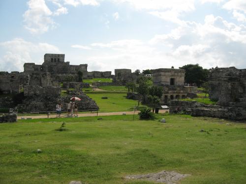 Pre-Columbian Mayan Walled City